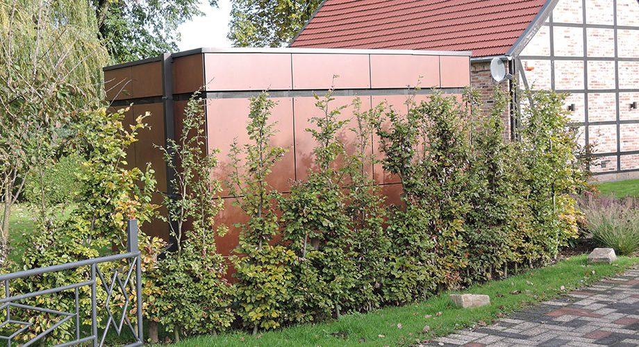 Gartenhaus : Schwarz Möbeltischlerei